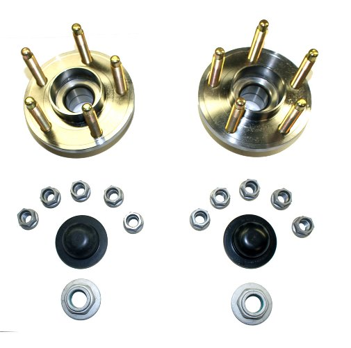 2015-2017 MUSTANG FRONT WHEEL HUB KIT WITH ARP STUDS