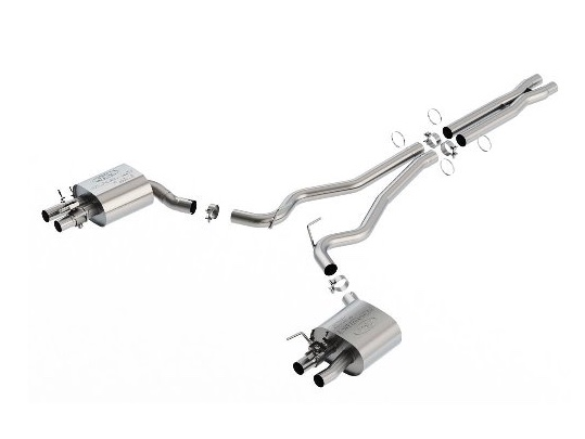2015-2018 MUSTANG GT350 ACTIVE CAT BACK SPORT EXHAUST SYSTEM